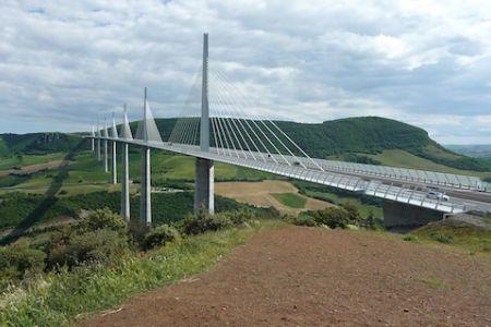 Millau Viaduct panorama