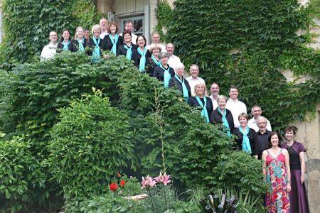 Choir at La Maison Verte
