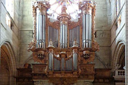 Béziérs Cathedral organ