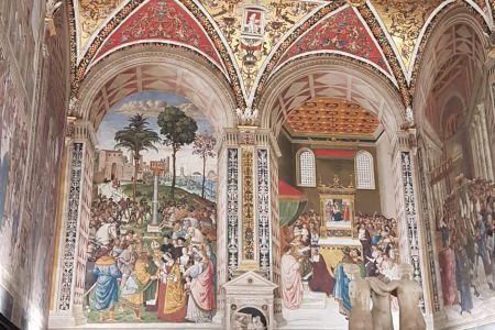 The Piccolomini Library in the Duomo