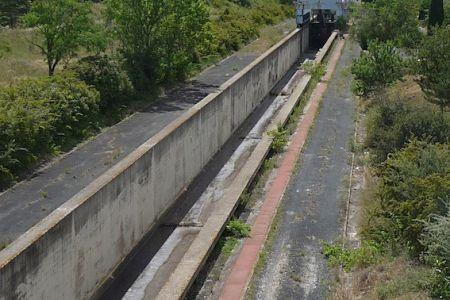 Incline plane on Canal du Midi