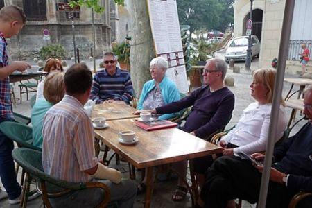Avant concert cafés in Béziers