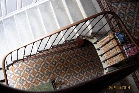 La Maison Verte stairwell