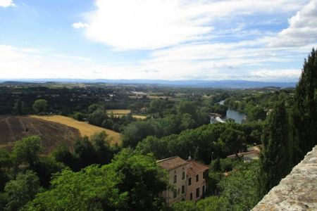 View from Béziers
